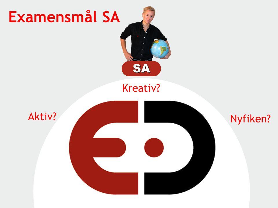 Examensmål SA SA Kreativ Aktiv Nyfiken