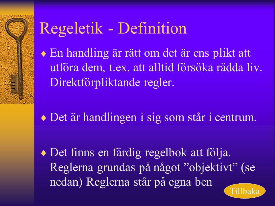 Regeletik - Definition