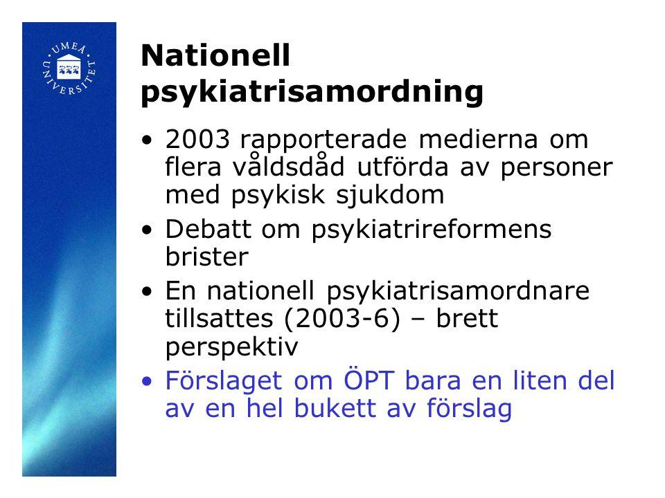 Nationell psykiatrisamordning
