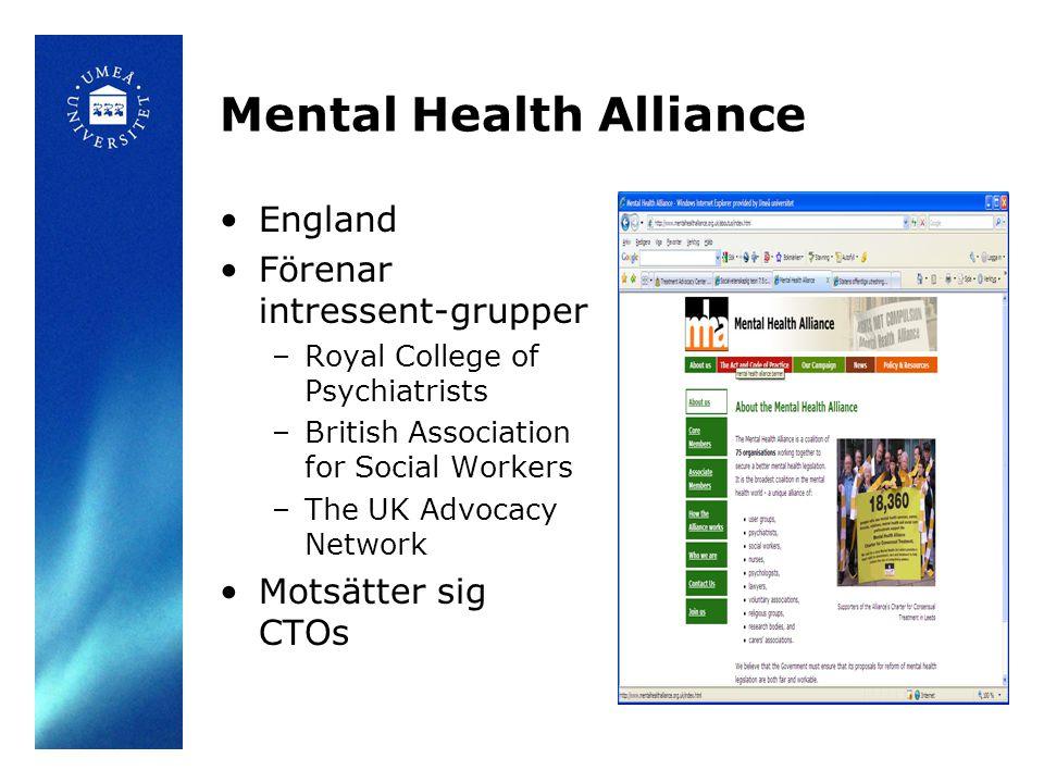 Mental Health Alliance