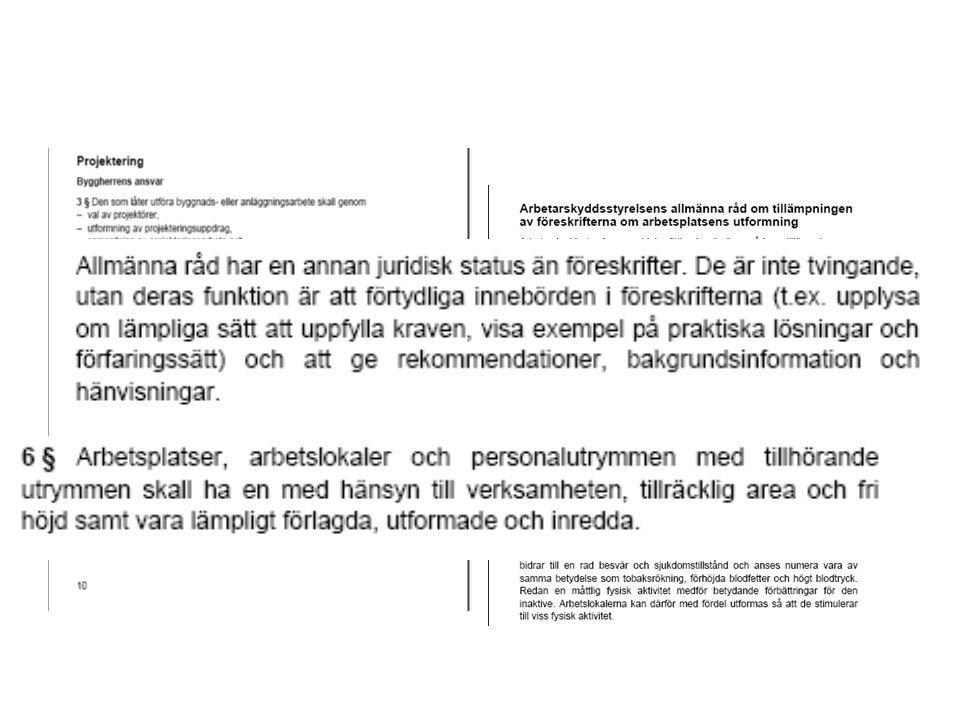 Paragrafens lydelse Tvingande, sk skall krav Allmänna råd annan status……..