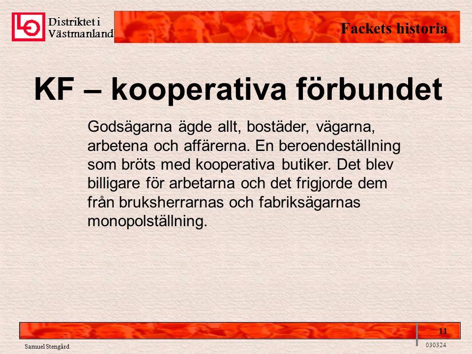 KF – kooperativa förbundet