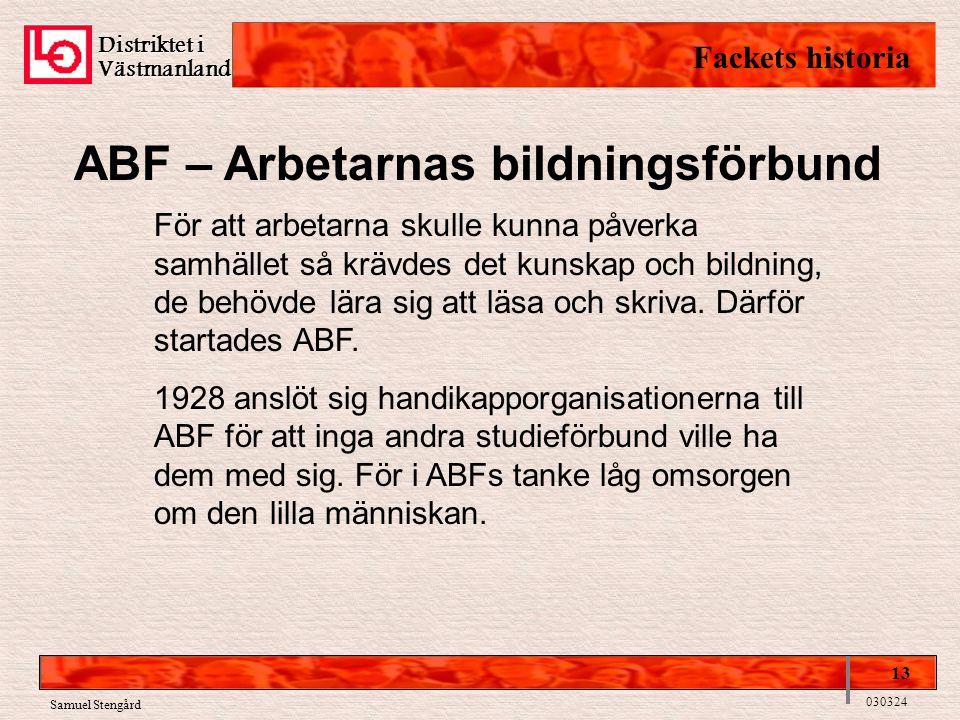 ABF – Arbetarnas bildningsförbund