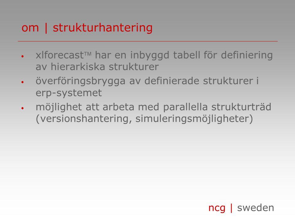 om | strukturhantering