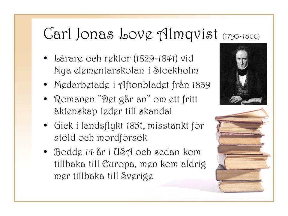 Carl Jonas Love Almqvist (1793-1866)