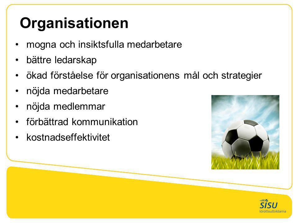 Organisationen mogna och insiktsfulla medarbetare bättre ledarskap