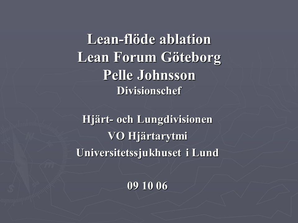 Hjärt- och Lungdivisionen Universitetssjukhuset i Lund