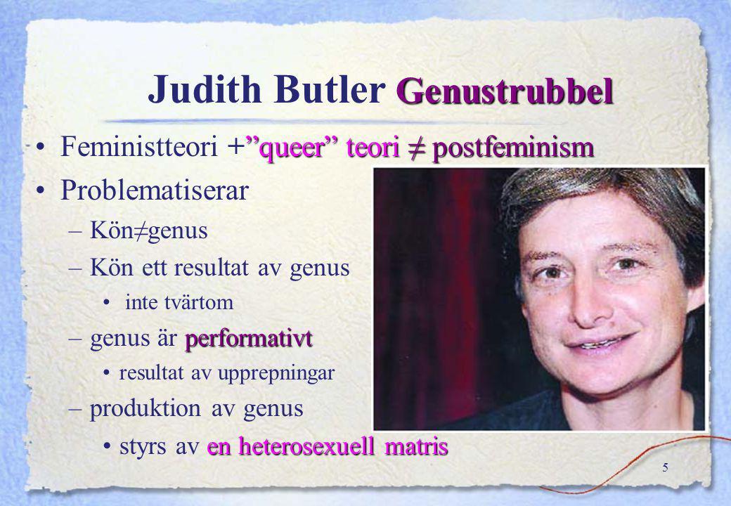 Judith Butler Genustrubbel