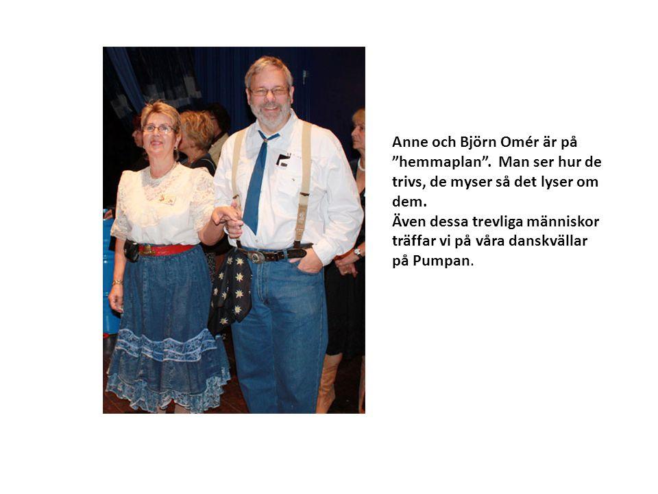 Anne och Björn Omér är på hemmaplan