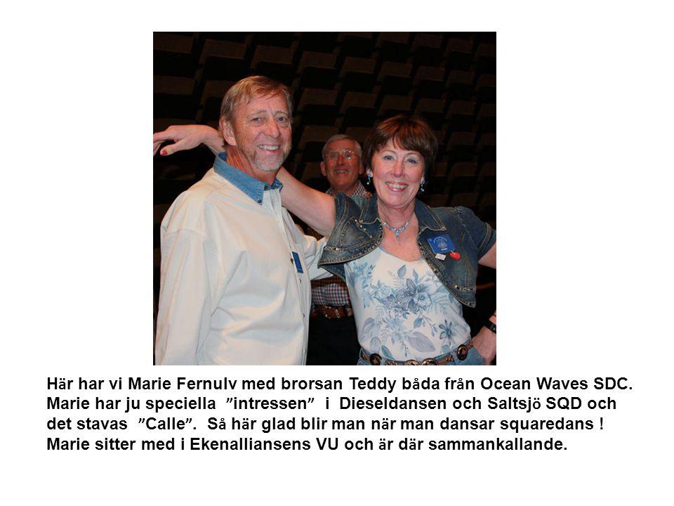 Här har vi Marie Fernulv med brorsan Teddy båda från Ocean Waves SDC.