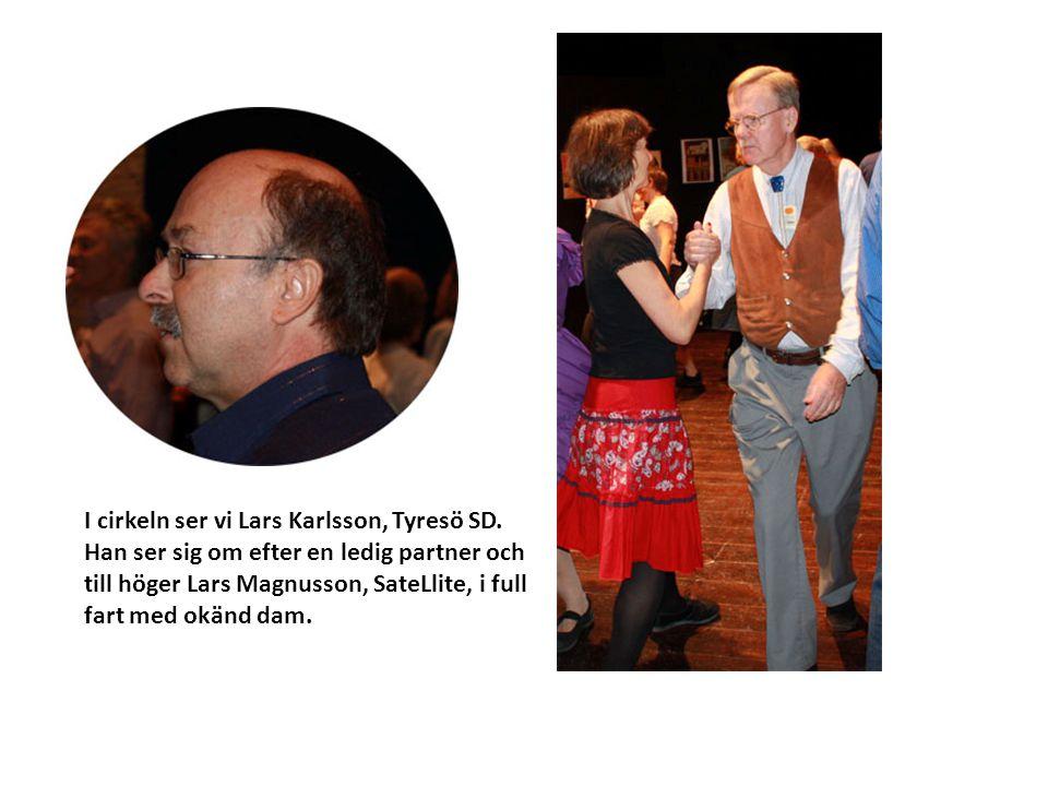 I cirkeln ser vi Lars Karlsson, Tyresö SD
