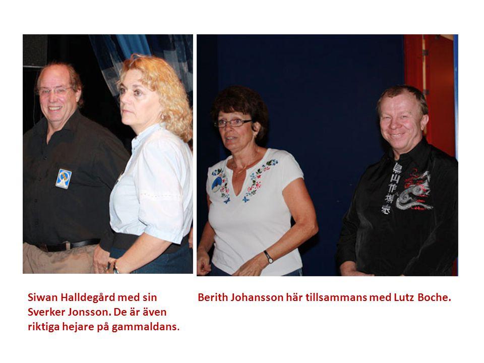 Siwan Halldegård med sin Sverker Jonsson