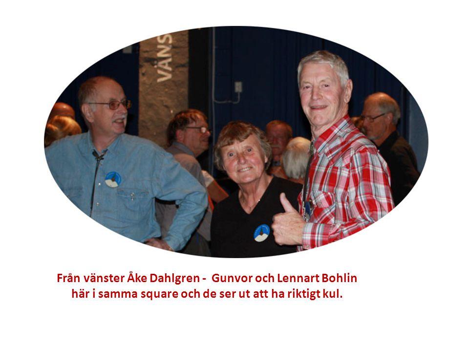 Från vänster Åke Dahlgren - Gunvor och Lennart Bohlin