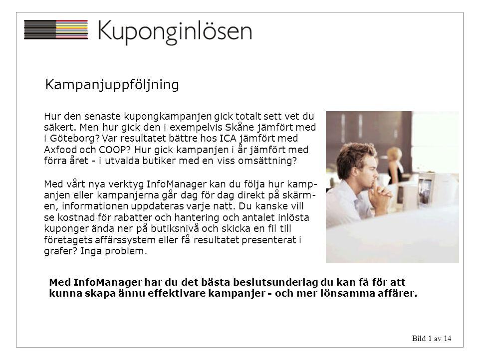 Kampanjuppföljning Hur den senaste kupongkampanjen gick totalt sett vet du. säkert. Men hur gick den i exempelvis Skåne jämfört med.
