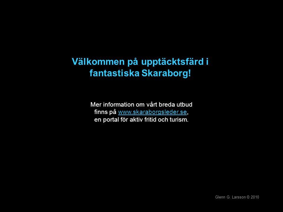 Välkommen på upptäcktsfärd i fantastiska Skaraborg!