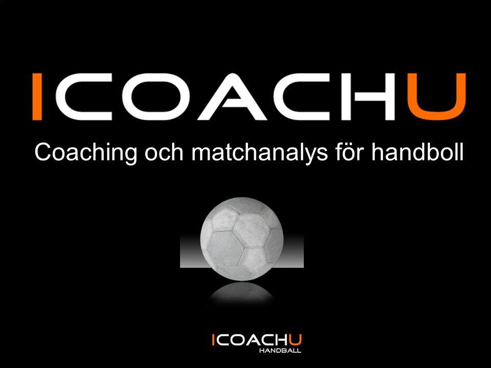 Coaching och matchanalys för handboll