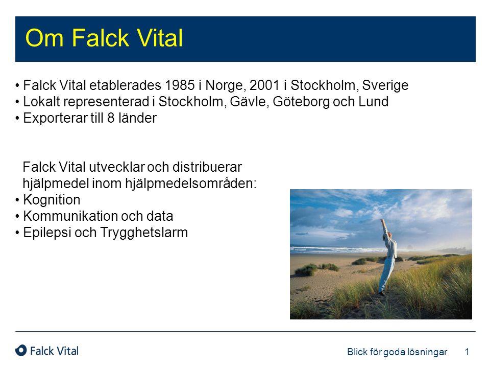 Om Falck Vital Falck Vital etablerades 1985 i Norge, 2001 i Stockholm, Sverige. Lokalt representerad i Stockholm, Gävle, Göteborg och Lund.