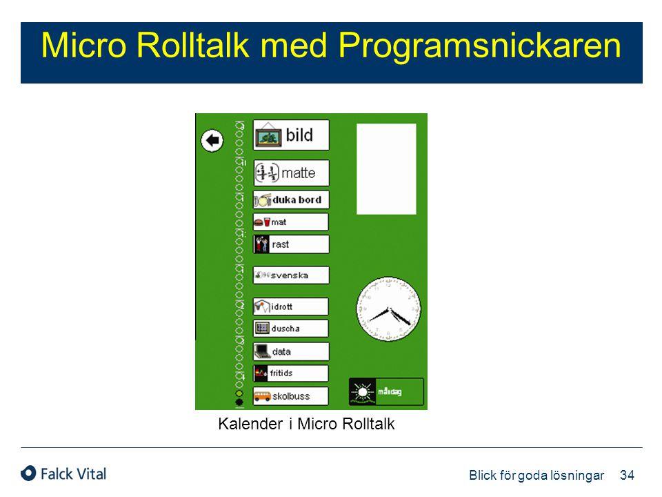 Micro Rolltalk med Programsnickaren
