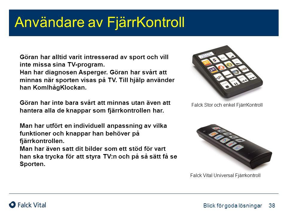 Användare av FjärrKontroll