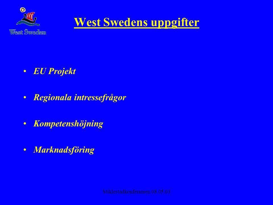 West Swedens uppgifter