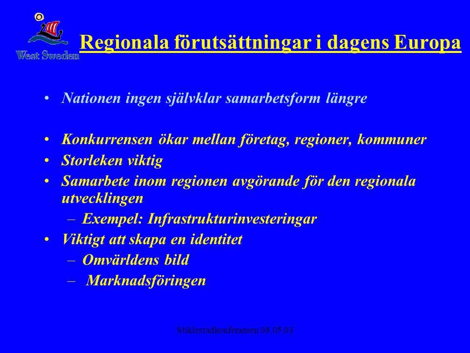 Regionala förutsättningar i dagens Europa