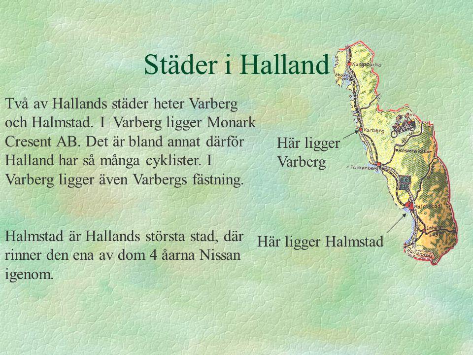 Städer i Halland
