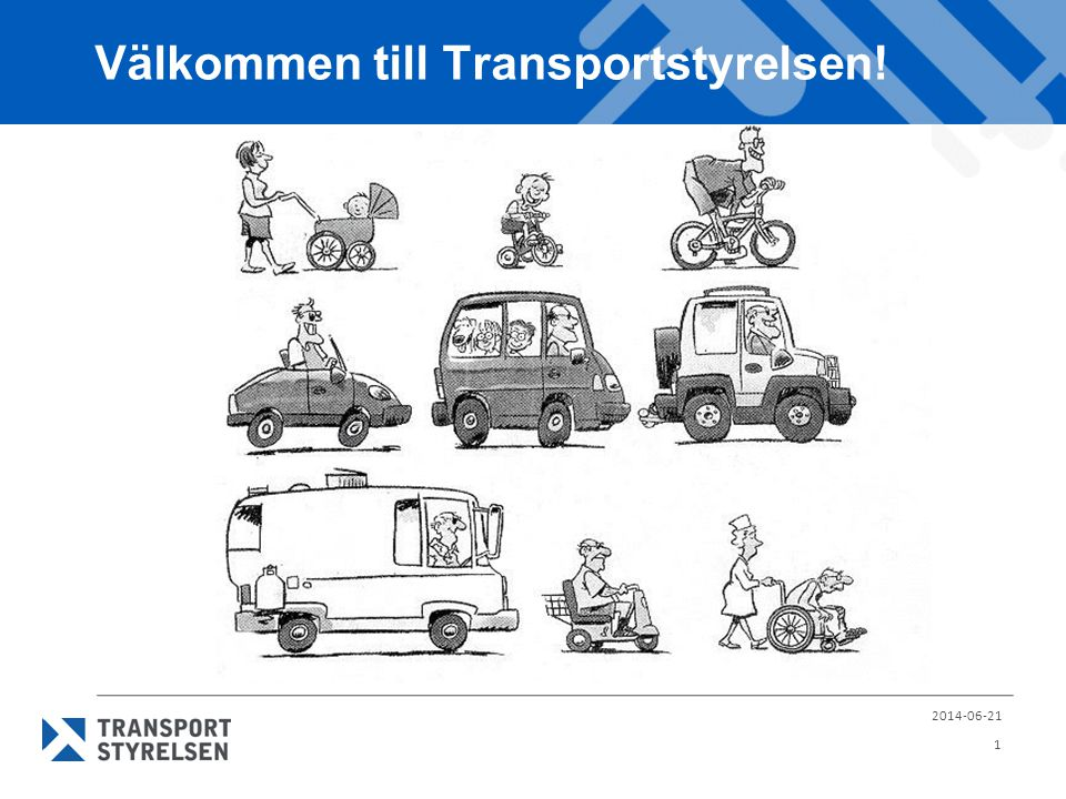 Välkommen till Transportstyrelsen!
