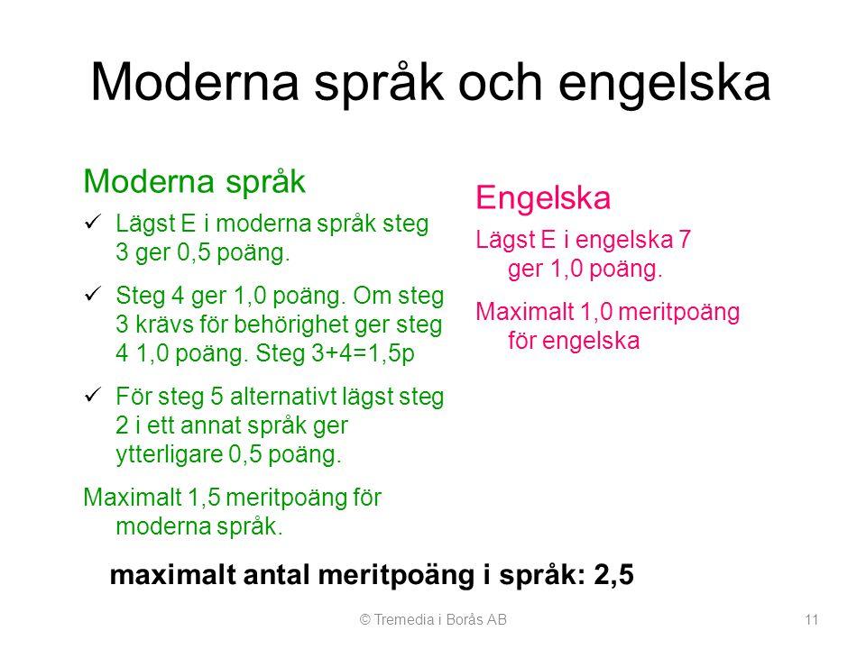 Moderna språk och engelska