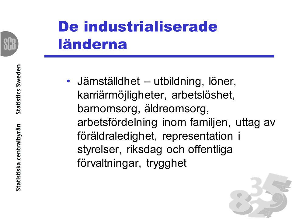 De industrialiserade länderna