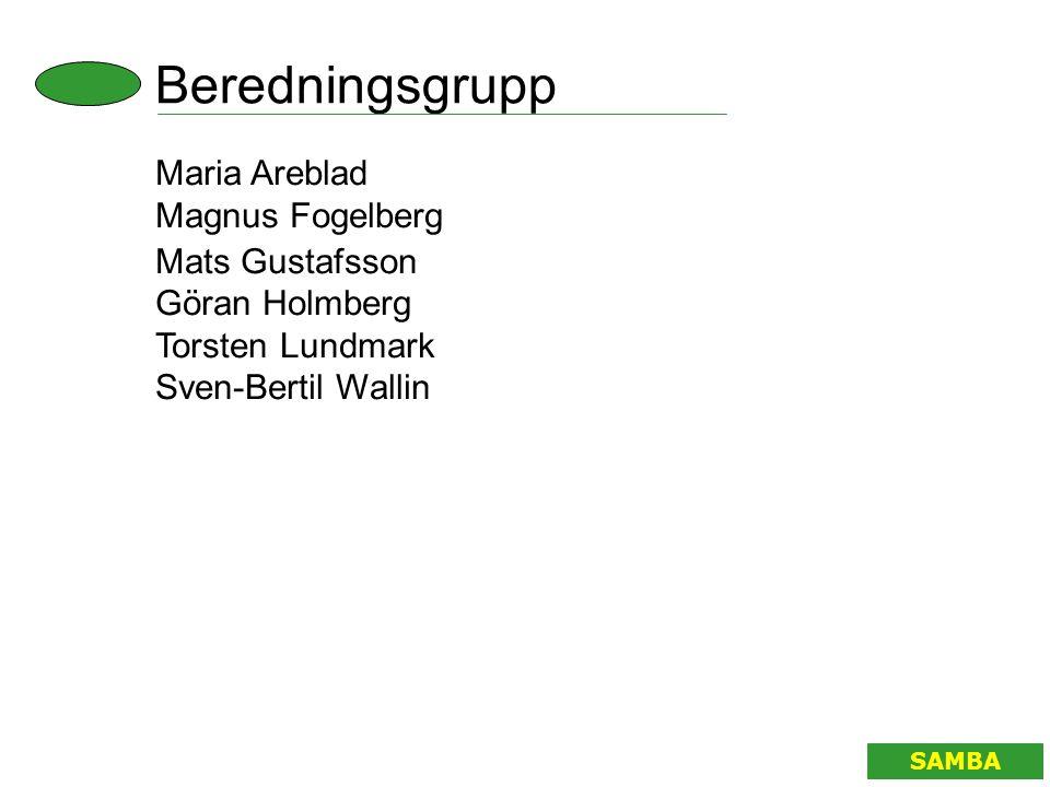 Beredningsgrupp Maria Areblad Magnus Fogelberg