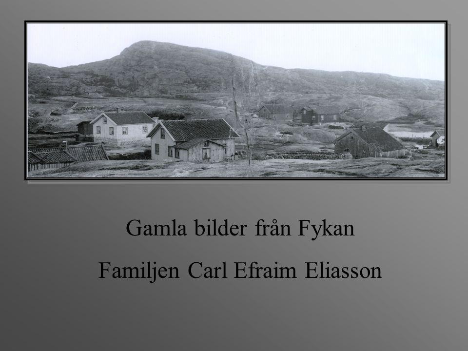 Gamla bilder från Fykan Familjen Carl Efraim Eliasson