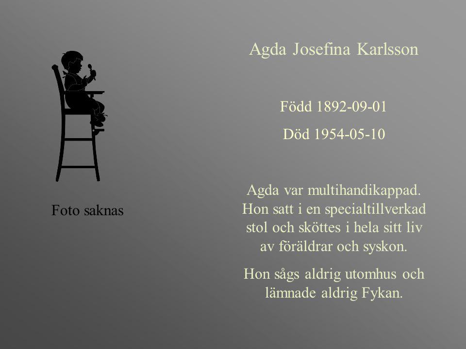 Agda Josefina Karlsson