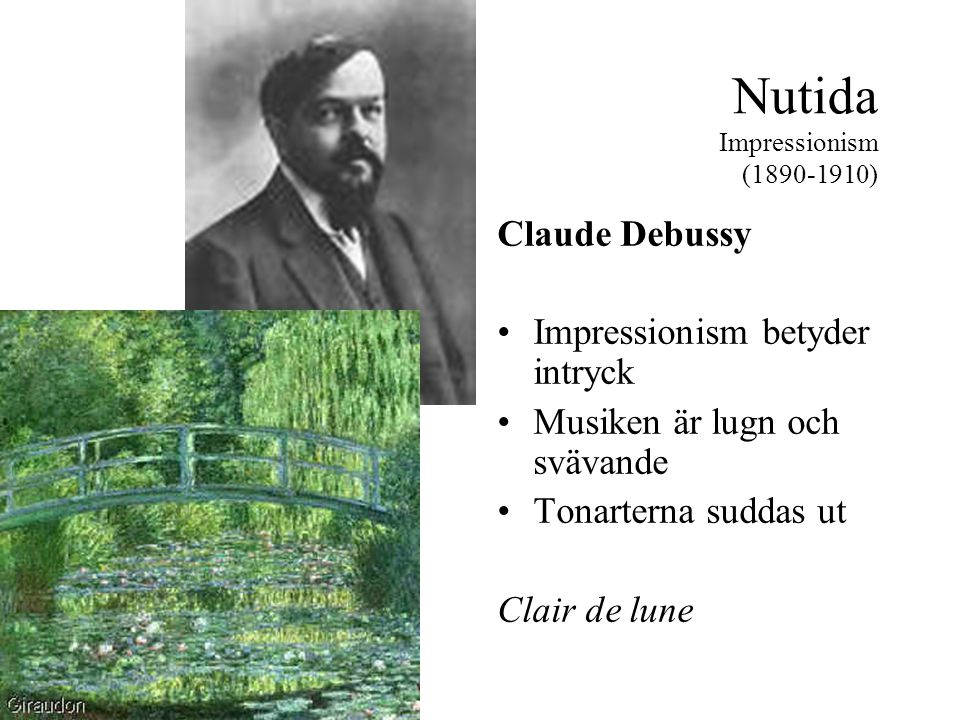 Nutida Impressionism (1890-1910)