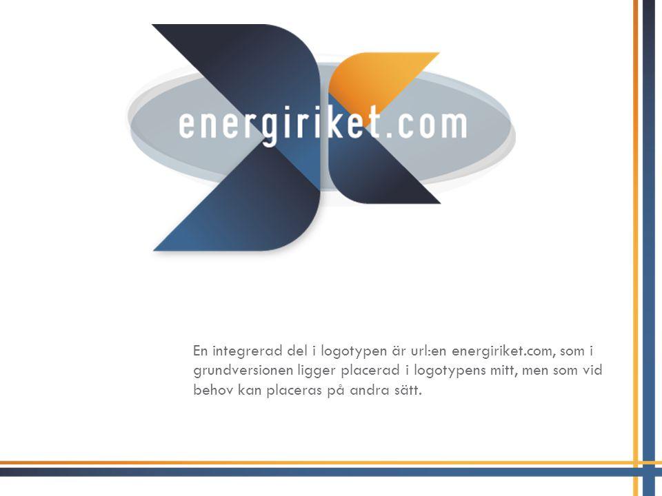 En integrerad del i logotypen är url:en energiriket