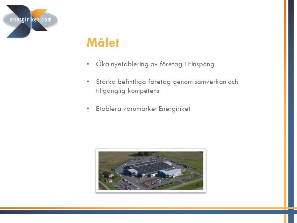Målet Öka nyetablering av företag i Finspång