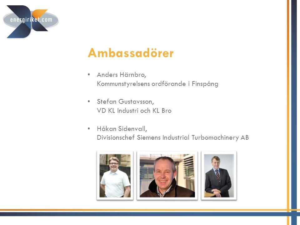 Ambassadörer Anders Härnbro, Kommunstyrelsens ordförande i Finspång