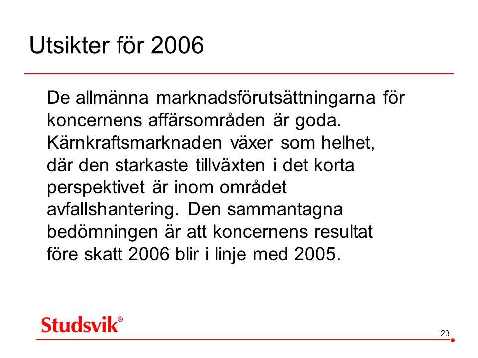 Utsikter för 2006