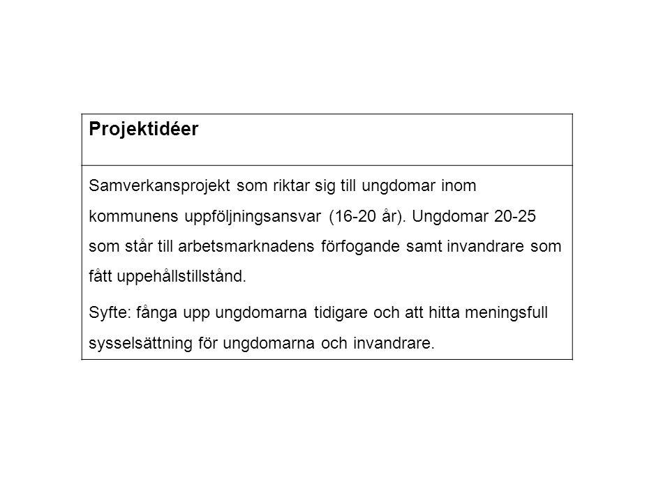 Projektidéer