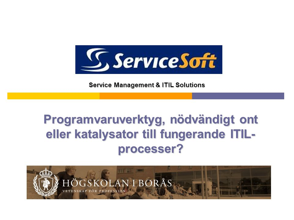 Service Management & ITIL Solutions