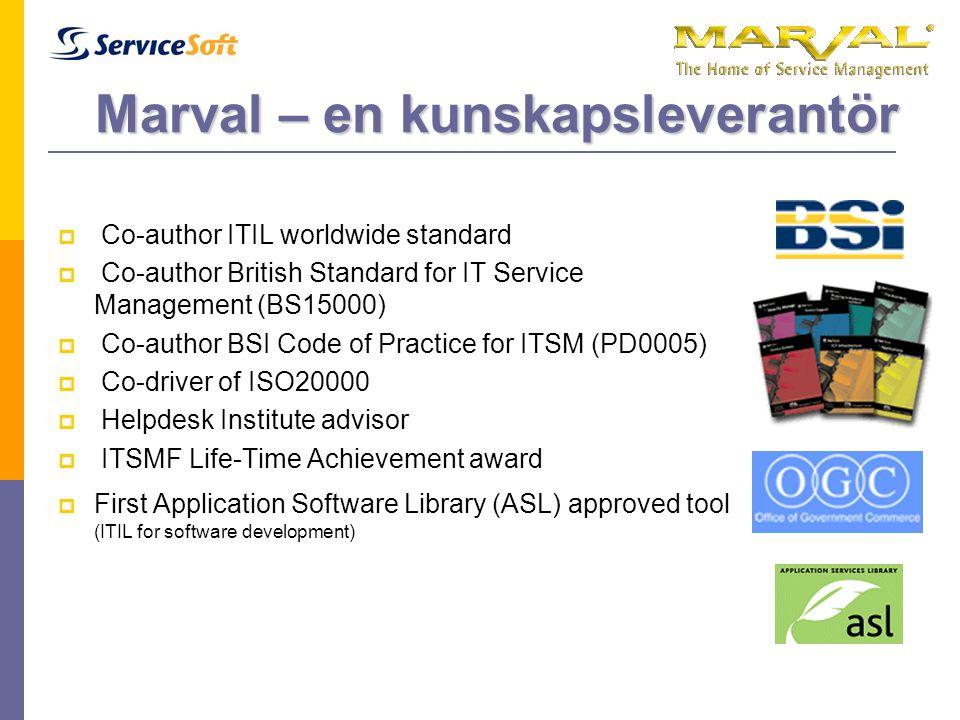 Marval – en kunskapsleverantör