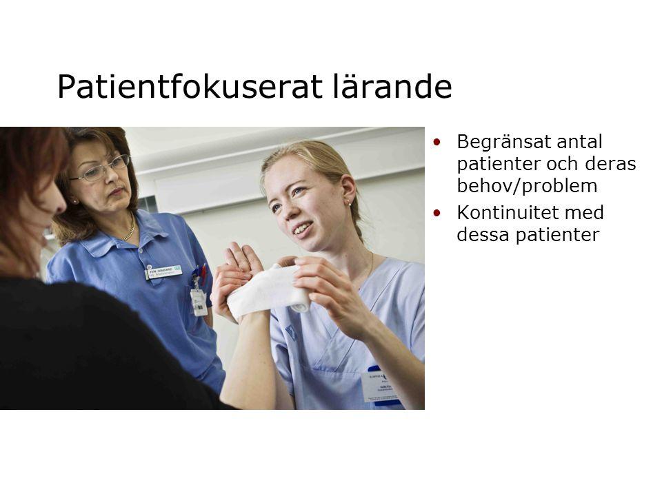 Patientfokuserat lärande