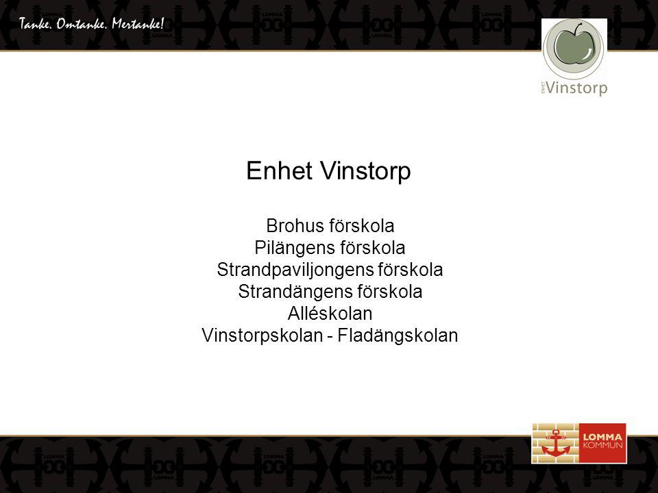 Enhet Vinstorp Brohus förskola Pilängens förskola