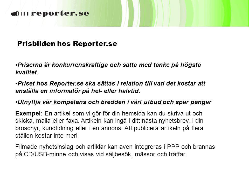 Prisbilden hos Reporter.se