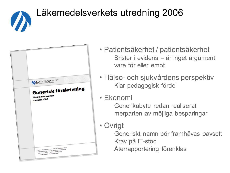 Läkemedelsverkets utredning 2006