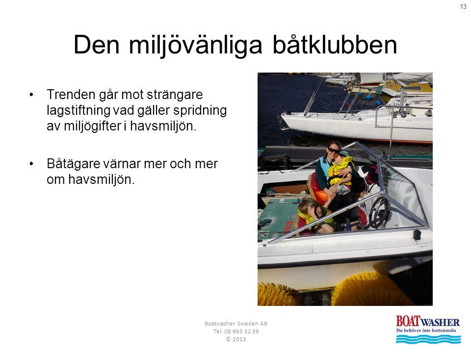 Den miljövänliga båtklubben