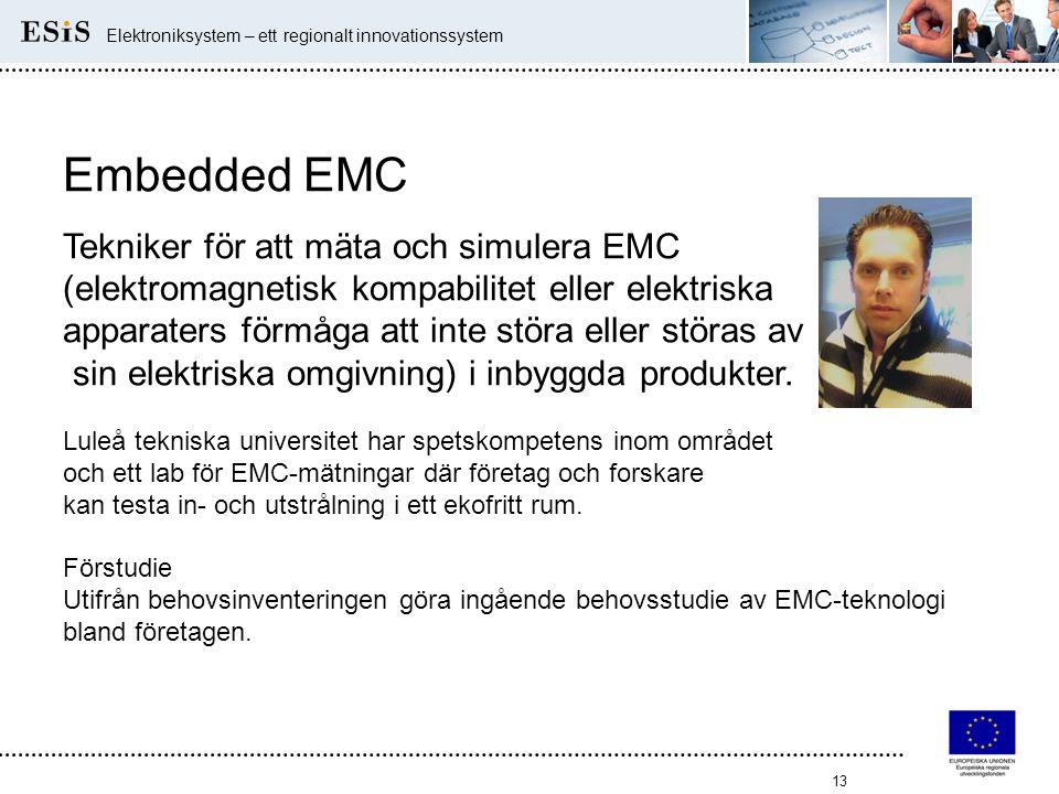 Embedded EMC Tekniker för att mäta och simulera EMC