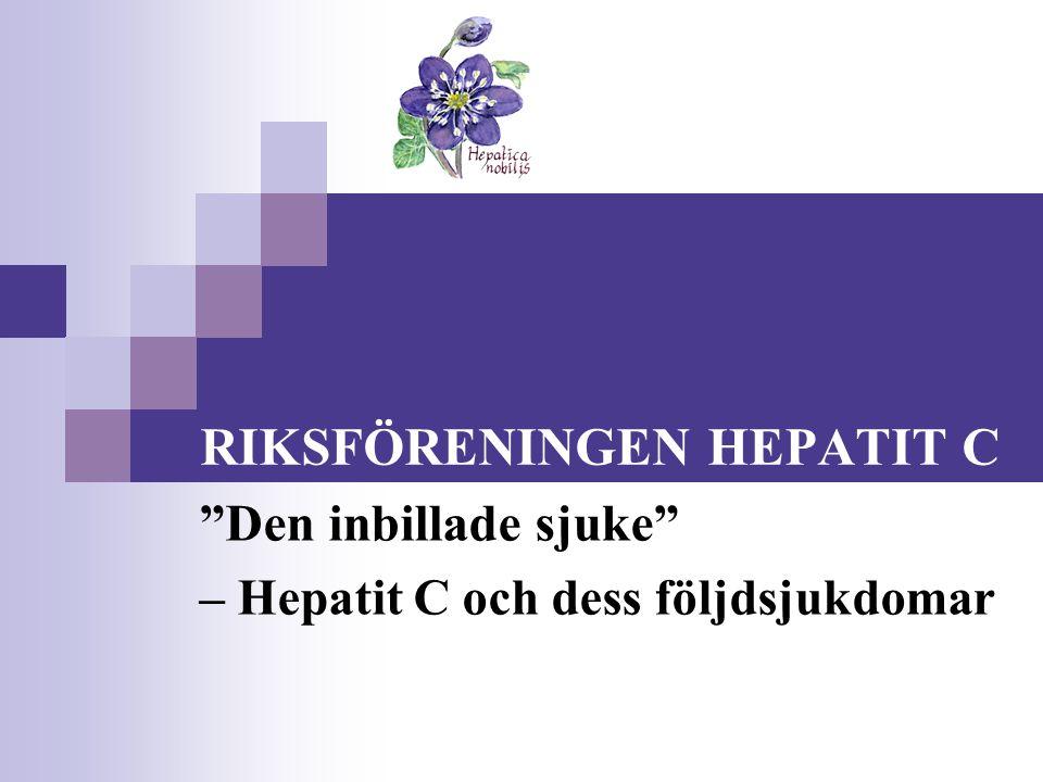 RIKSFÖRENINGEN HEPATIT C