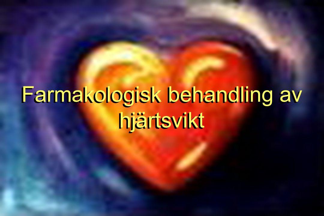 Farmakologisk behandling av hjärtsvikt