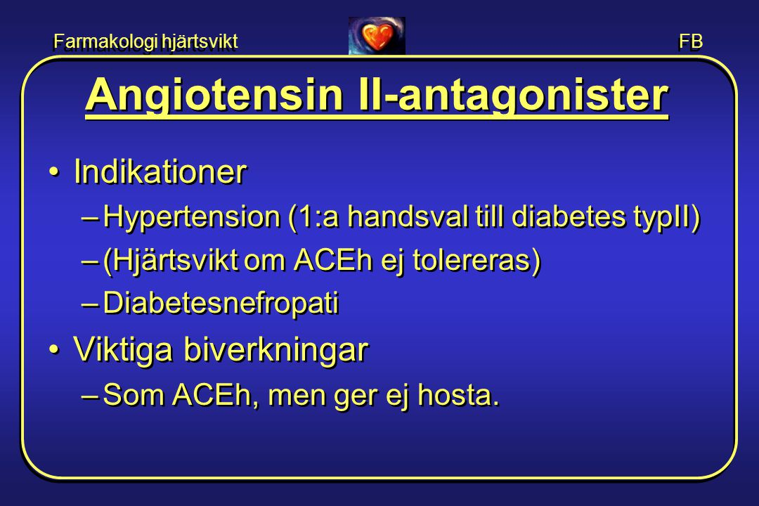 Angiotensin II-antagonister