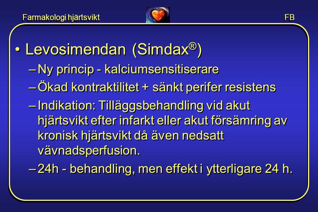 Levosimendan (Simdax®)